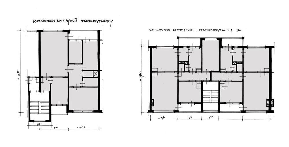 BouwhulpGroep Systeemwoning Rottinghuis - portiek gecombineerd
